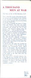 1000 Men at War 2-16th Malcolm Uren inside cover