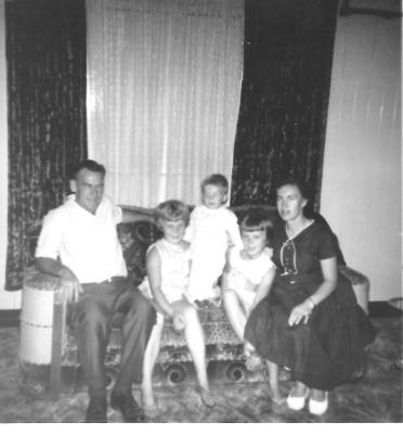 Adams Family Goondiwindi 1964