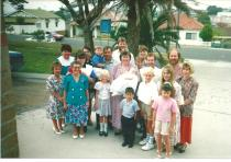 Clare Adams baptism St Augustines Bulli 1991