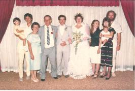Daryl Jenny Wedding 1986