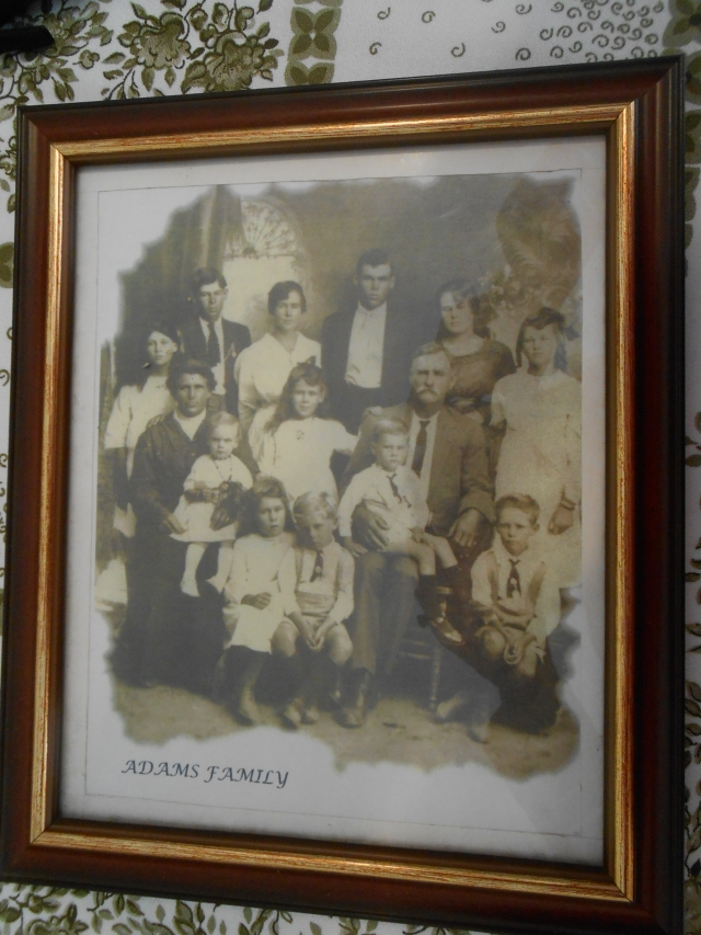 The Adams Family of Arthur James and Matilda Adams