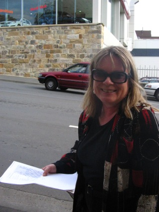 Kerrie Holidaying in Tasmania 2008