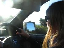 On the road in Tasmania