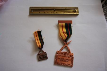 Infantry Front Line Service Medal 1