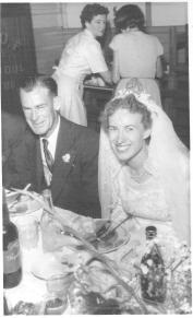 Joan and Ross Adams Wedding Reception - Thirroul IOOF-1
