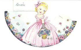 Joan Callcott - The Wedding - Bridal Place Card
