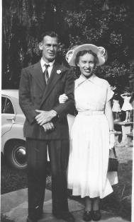 Joan Ross Going Away after Wedding