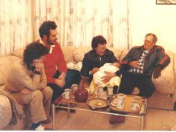 John Heather Joan Ross Baby Erin 1983