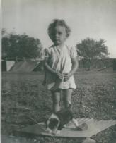Niece Janet daughter of Mabel Ray aka Topsy Barry nee Adams