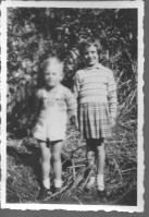 Peter and Janet Barry - nephew niece of Ross Adams 1950s
