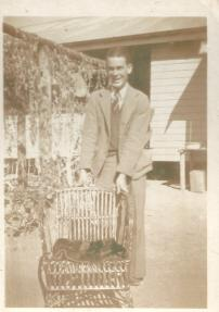 Ross at Boggabilla back from WWII