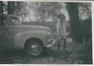 Ross at Boggabilla Honeymoon 1953