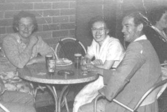 Sadie Andrews with Joan Ross 1954 001
