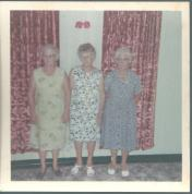 Tess Fleming Ivy Richardson Mary Adams - Goondiwindi 1969