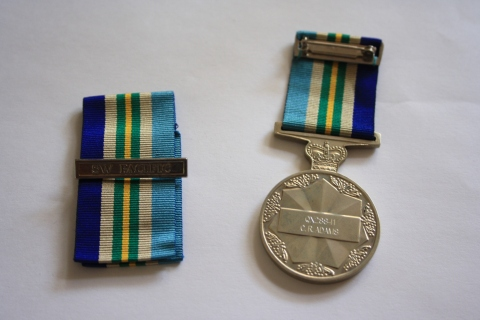 War Service Commemorative Medal Reverse 1
