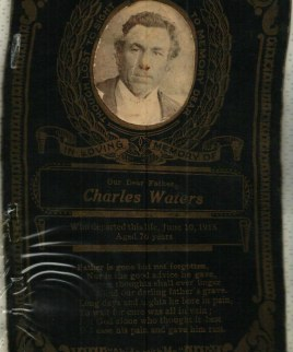Charles Waters (from M Moore)