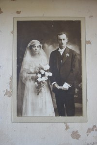 1920 Wedding of Alice May Brasen and Albert George Maunder after WW1